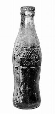 A True survivor of the Flood of 1951 a never-opened Coca-Cola bottle covered with flood mud.