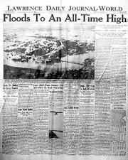 Newspaper courtesy of Nettie Burke, Linwood