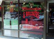 G. Willikers Deli & Bar, 733 Mass., serves inexpensive sandwiches and salads.