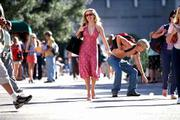 "Reese Witherspoon plays a California gal who follows her ex-boyfriend to Harvard Law School in ""Legally Blonde."""