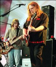 Phil Lesh and Warren Haynes
