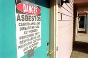 Asbestos removal from apartments at 1301 Ohio and 1307 Ohio, slated for demolition by Kansas University, has begun in the Oread neighborhood. Four old houses on Ohio near the apartment complex also are planned for demolition by KU, a move that is upsetting some Oread neighbors.