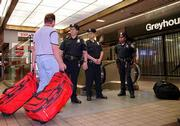 Police say the gunman in Friday's shooting of passengers on a bus at New York's Port Authority Terminal stopped when a mother plead for her daughter's life. After the shooting, police presence was heavy at the giant bus station.