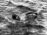 Gertrude Ederle swims the English channel back in 1926. She is now 94 and living in a New Jersey nursing home.