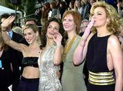 "The fifth star of HBO&squot;s ""Sex and the City"" is the clothes. Fashion followers keep close track of what actresses, from left, Sarah Jessica Parker, Kristin Davis, Cynthia Nixon and Kim Cattrall wear both on screen and off."