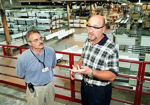 Photo: At Amarr Garage Doors, Delbert Phlipot, Vice President Of ... /  LJWorld.com