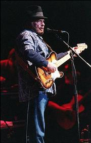 Merle Haggard at the Ameristar Casino. 9/15/2001
