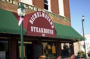 Bichelmeyer's Steakhouse, 427 E. Fourth St. in Tonganoxie, offers a menu that ranges from sandwiches to steak and shrimp.