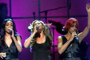 "Destiny&squot;s Child performs at the ""Concert for New York"" in Madison Square Garden. The group has pushed back its fall European tour to May 2001. Many American pop acts have canceled or postponed overseas tours since last month&squot;s terrorist attacks."