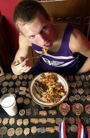 Matt Noonan, a senior at Baldwin High School, realizes the importance of proper nutrition for his athletic success. Noonan, a three-time state cross country champion, says his favorite homemade meal is Hamburger Casserole.