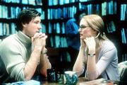 "Ed Burns, left, plays a TV producer who becomes involved with a real estate agent (Heather Graham) in ""Sidewalks of New York."""