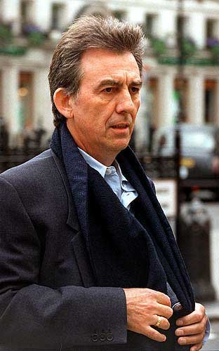 Photo Former Beatle George Harrison Shown In This 1998