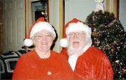 The Lecompton couple have enjoyed portraying Christmas' first couple for the last seven years.