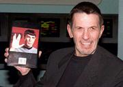 """Actor Leonard Nimoy, best known for his role as Mr. Spock in """"Star Trek,"""" thinks it&squot;s ironic that many believe the show includes references to faith. """"Star Trek"""" creator Gene Roddenberry """"forbid any reference to God or religion"""" in the series, Nimoy says."""