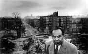 Writer Langston Hughes, who spent a dozen years in Lawrence as a child, will be honored in coming weeks at the Langston Hughes Centennial Celebration. Scholars, artists, actors and writers from around the globe will gather in Lawrence to discuss Hughes' continuing legacy. This photograph, which belongs to the Kansas University Archives, shows Hughes in midlife in New York City.