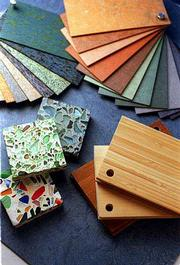 Flooring comes in a variety of materials and styles, and one is sure to match your home's decor.