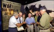 New Orleans is famous for its jazz, voodoo and Cajun cooking, but patriotism has a place, too. The National D-Day Museum was created by historian Stephen Ambrose. This group of World War II veterans visited in November.