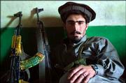 A warrior pauses in his base in Surmad, Afghanistan. According to the men in the base, U.S. Special Forces and Afghan troops in a nighttime raid arrested nine of their men in eastern Paktia province, including the police chief of Surmad.
