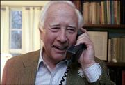 "Author David McCullough receives congratulations at his West Tisbury, Mass., home for winning the Pulitzer Prize for Biography for his book ""John Adams."" McCullough won a Pulitzer for another presidential biography, ""Truman,"" nine years ago."