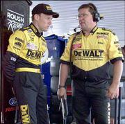 Matt Kenseth, left, and crew chief Robbie Reiser have forged a strong working relationship.