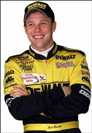 Matt Kenseth is second in the Winston Cup points standings.
