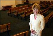 Donna Mathena-Menke, funeral director of Lawrence Funeral Chapel, has seen little business since opening the funeral home in January. Mathena-Menke teamed with Chris Hutton, owner of Lawrence Hutton Monument Co., to launch the new funeral home at Sixth Street and Monterey Way.