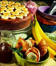 The recipe for Crispy Coconut Banana Sundaes took top honors in the International Banana Assn. contest.