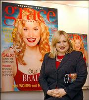 Grace Magazine's editor Ceslie Armstrong says it's time for a magazine that doesn't trest women who wear sizes 12 and up as handicapped. The magazine hits the racks on Tuesday.