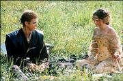 "Hayden Christensen, left, and Natalie Portman develop a romance in ""Star Wars: Episode II Attack of the Clones."""