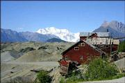 The Kennicott Mine site is in a former copper mining community abandoned by J.P. Morgan in 1939. Kennicott is inside the Wrangell-St. Elias National Park, the United States' largest park.
