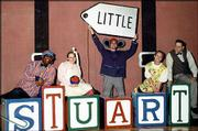 """The Adventures of Stuart Little"" will be presented by the Seem-To-Be Players at 1:30 p.m today at the Lawrence Arts Center, 940 Mass. Tickets are $8 for adults and $6 for children and senior citizens."