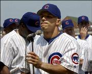 Chicago player representative Joe Girardi announces that Saturday's game between the Cubs and St. Louis at Wrigley Field would be cancelled. Cardinals pitcher Darryl Kile was found dead in the team's hotel.