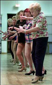 Members of the Gingersnaps won't divulge their ages, though some admit to being in their 80s.