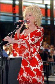 Country singer Dolly Parton performs at NBC's Today show Summer Concert Series earlier this month. Parton will launch a 13-city tour today.