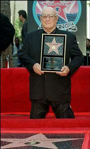Image result for 1997 - Rod Steiger received a star on the Hollywood Walk of Fame.