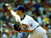 Chicago pitcher Mark Prior delivers against Houston. The Cubs defeated the Astros, 5-0, on Friday at Chicago.