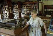 The small, one-room Coal Creek Library in Vinland is thought to be the oldest continuously operating library in the state. Martha Smith, 96, has been the librarian off and on since she was in her early 20s and still shows up on Sunday afternoons from April through October to greet visitors and check out books.