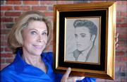 Judy Spreckels, a former close friend of Elvis Presley, shows a portrait of Presley she drew in 1956, as she reflects on her relationship with him. Spreckels says she was like the sister that he never had, the companion, confidante and keeper of secrets in the youthful, exciting days of his early career.