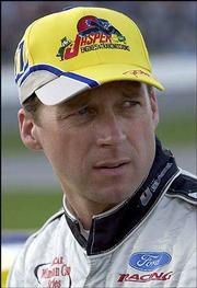 Dave Blaney is in 20th place in the Winston Cup points standings.