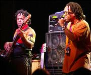 Victor Wooten and Speech