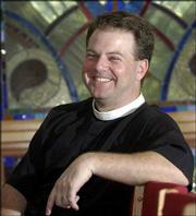 The Rev. Jonathon Jensen is the new rector at Trinity Episcopal Church. The church has about 400 members.