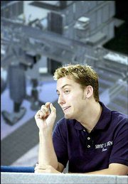 'N Sync singer Lance Bass faces slimmer chances of making a trip into space. On Tuesday, Bass was asked to leave Russia's cosmonaut training program because his sponsors didn't come up with the $20 million for a trip to the International Space Station.