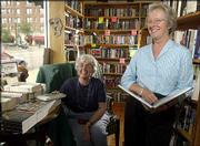 The Raven Bookstore, 8 E. Seventh St., co-owned by Mary Lou Wright, left, and Pat Khede, has been awarded the Women-Owned Business of the Year in the retail category from the Kansas Department of Commerce and Housing.