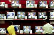 Brazilian presidential candidate Luiz Inacio Lula da Silva may have enough votes after today to avoid a runoff election. Television has enormous power in Brazil, and Lula, with his warm, personal TV spots, pictured above, may have won his campaign through use of this medium.