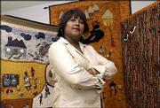 Marla Jackson, Lawrence, has emerged as an accomplished quilter and has one of her quilts on exhibit in the National Civil Rights Museum in Memphis, Tenn. Her quilts also have been displayed at the Watkins Community Museum of History.