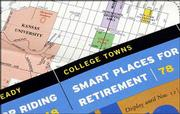 Lawrence is one of three towns featured as popular retirement communities in the November issue of Kiplinger's Personal Finance magazine.