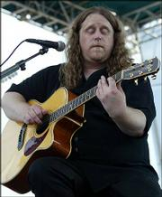 "Warren Haynes of Gov&squot;t Mule performed a rare solo acoustic set at Alpine Valley Music Theatre in East Troy, Wis. on August 4th of this year. Haynes appeared as part of ""Terrapin Station, the Grateful Dead Family Reunion."""