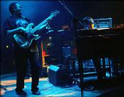 George Porter Jr. and Danny Louis filled out the Gov't Mule lineup Friday night in Lawrence