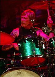 Gov't Mule drummer Matt Abst was named world's best blues/R&B drummer this year by Drum! magazine.