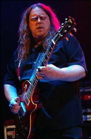 Warren Haynes played the blues Friday night at Lawrence's Liberty Hall